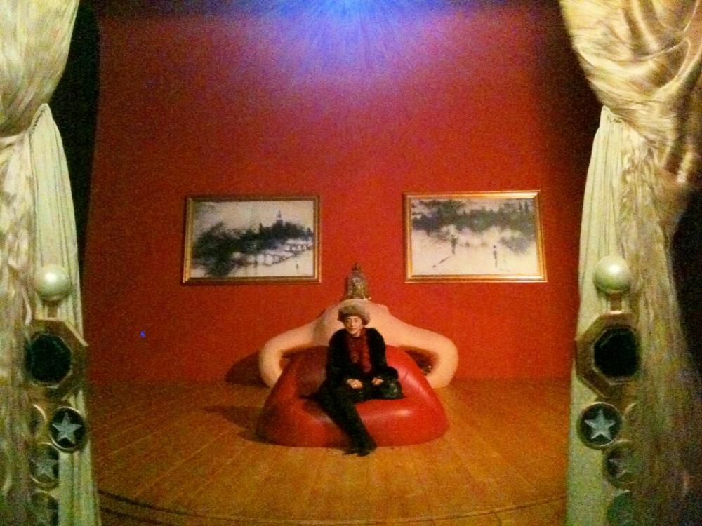 dali divano mae west sala interattiva