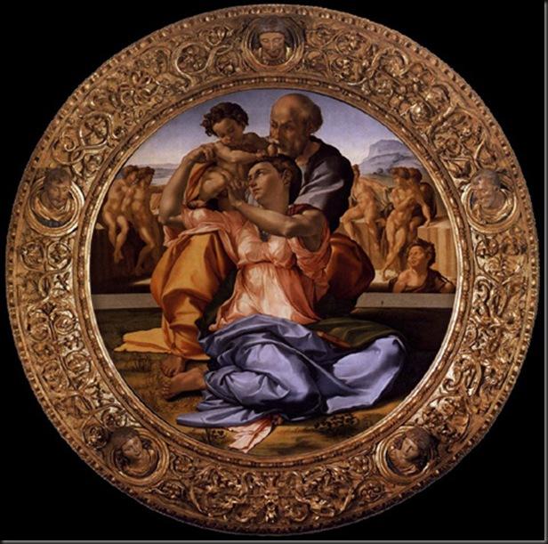 Michelangelo_Buonarroti_Tondo Doni