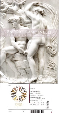 mostra Bandinelli Bargello