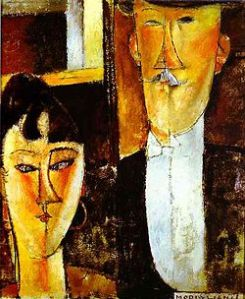 Amedeo modigliani la sposa e lo sposo250px-Bride_and_Groom