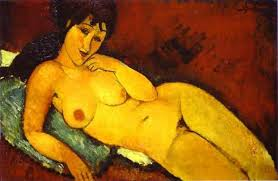 Amedeo Modigliani nudo 15