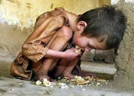 gesù bambino affam ato