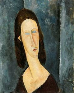 Modigliani 250px-Blue_Eyes_1917_