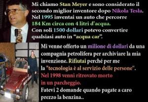 Stan Meyer auto-acqua