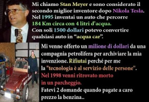 Stan Meyer auto-acqua