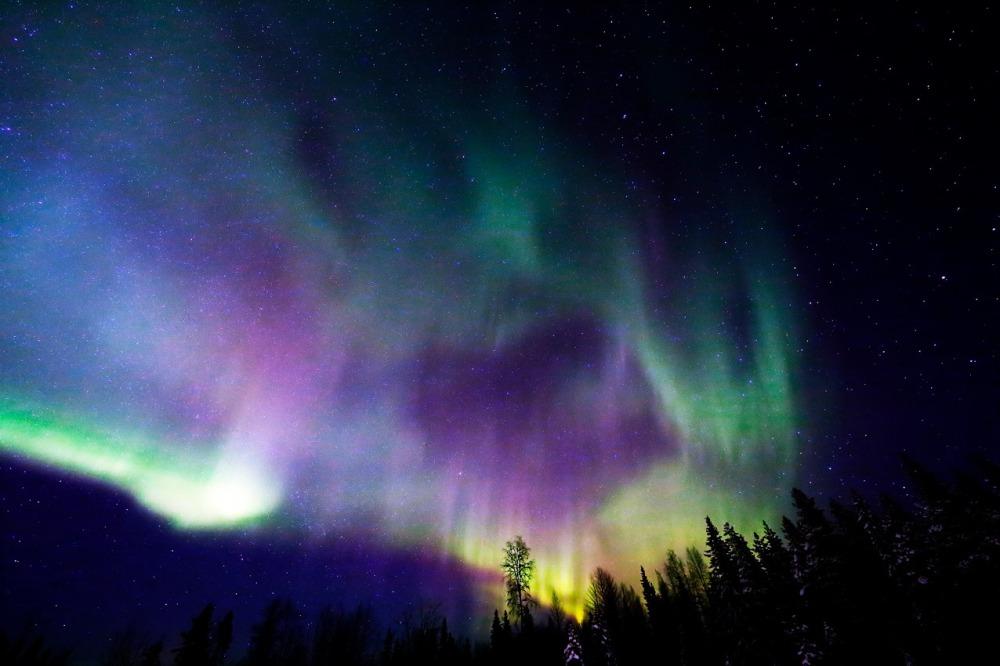 Andrea Barghi  aurora boreale
