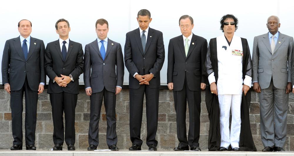 G8:LEADER OSSERVERANNO MINUTO DI SILENZIO PER VITTIME SISMA