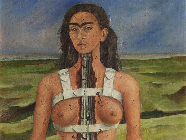 Frida khalo colonna vertebrale
